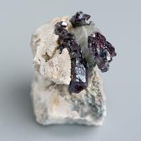 Pyrargyrite On Dolomite Calcite