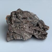Native Silver & Chloanthite On Native Arsenic