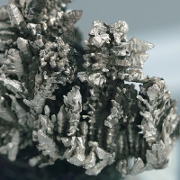Native Silver On Safflorite