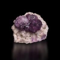 Fluorite On Apatite