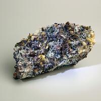 Chalcopyrite & Calcite On Dolomite