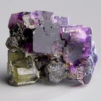 Fluorite & Apatite With Galena