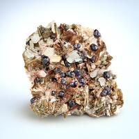 Fluorite On Quartz & Zinnwaldite