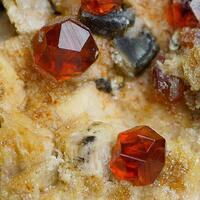 Spessartine & Hyalite