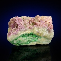 Manganoan Vesuvianite Chrome-Vesuvianite & Chromian Grossular