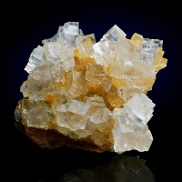 Halite On Gypsum
