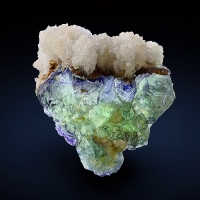 Fluorite With Hyalite