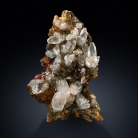 Calcite On Hematite