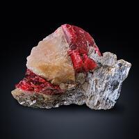 Rhodonite In Calcite