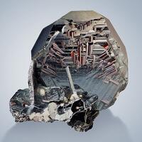 Hematite With Rutile