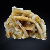 Quartz Psm Baryte On Fluorite