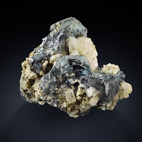Hematite With Rutile & Albite