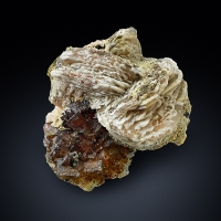 Baryte With Fluorite