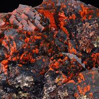 Fluorite With Hematite