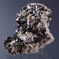 Cassiterite With Gilbertite