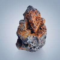 Acanthite With Limonite