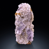 Fluorite With Siderite