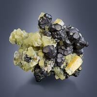 Fluorite With Beryl