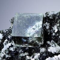 Fluorite With Adularia