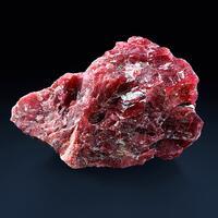 Rhodonite With Graphite & Pyrite