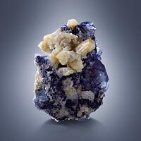Herderite With Fluorite