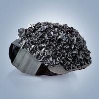Cassiterite On Schorl