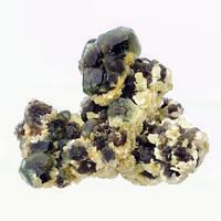 Fluorite & Herderite With Muscovite
