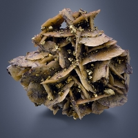 Siderite With Chalcopyrite