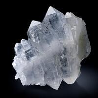Rock Crystal Var Faden Quartz