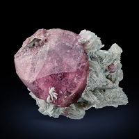 Rubellite With Lepidolite