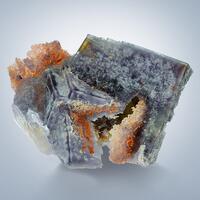 Fluorite With Eisenkiesel