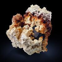 Topaz & Hyalite With Schorl