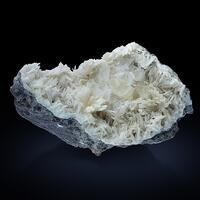 Natrolite With Calcite