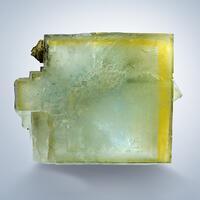 Fluorite With Chalcopyrite