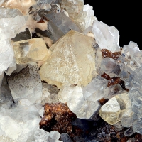 Topaz With Rock Crystal