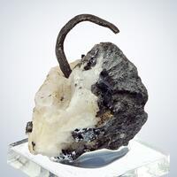 Native Silver Calcite & Galena