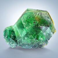 Fluorite With Herderite
