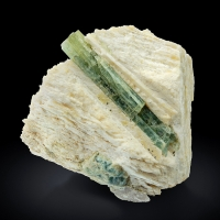 Beryl In Microcline