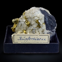 Chalcopyrite On Ankerite