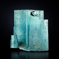 Beryl Var Aquamarine & Tourmaline