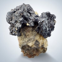 Stephanite On Dolomite