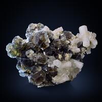 Beryl Var Goshenite On Fluorite
