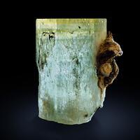 Aquamarine & Limonite Psm Siderite