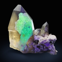 Opal Var Hyalite & Smoky Quartz