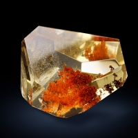 Citrine With Inclusions