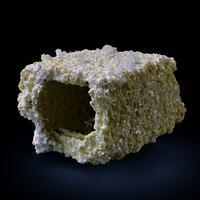 Beryl Var Goshenite On Muscovite Psm Microcline