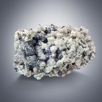 Fluorite & Cassiterite With Quartz