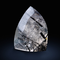 Tourmaline Inclusions In Rock Crystal
