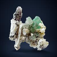 Fluorite & Hyalite