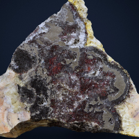 Proustite With Baryte